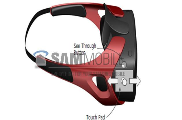 This is what Samsung's virtual reality headset, Gear VR, looks like