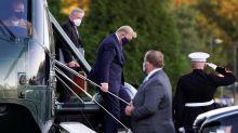 Coronavirus: el primer mensaje de Donald Trump desde el hospital donde está internado por Covid