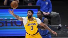 Anthony Davis scores 4 points in limited return from calf strain