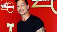 Mira el nuevo look de Ricky Martin a lo Vicente Fernández