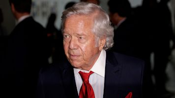 Patriots owner charged for soliciting prostitutes