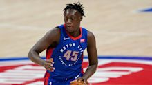 Sekou Doumbouya's big dunk still excites one year later as Pistons prep for Cavaliers