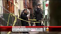 NYPD: Suspect Fatally Shot By Police In East Village; 2 Detectives Injured