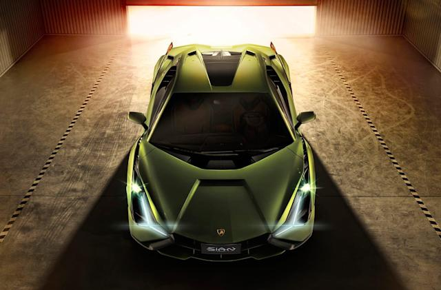 Lamborghini's first hybrid supercar is the 819HP Sián