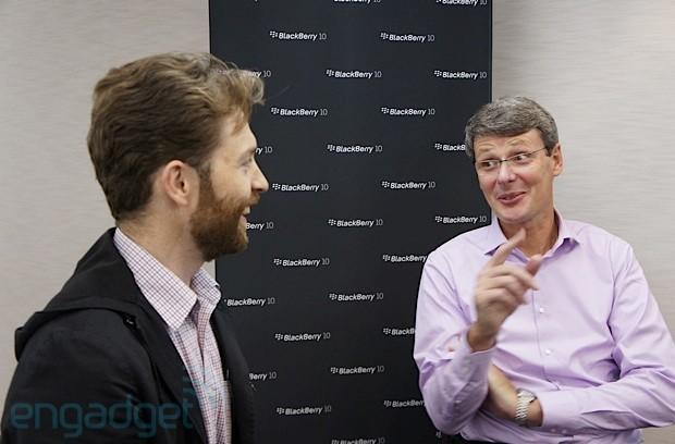 The Engadget Interview: RIM CEO Thorsten Heins on BlackBerry 10, QWERTY keyboards and changing cultures (video)