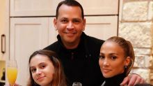 One Big Family! Jennifer Lopez and Alex Rodriguez Celebrate Thanksgiving with Their Kids in L.A.