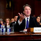Donald Trump accuses Democrats of trying to 'scare' Brett Kavanaugh with new sexual misconduct allegation