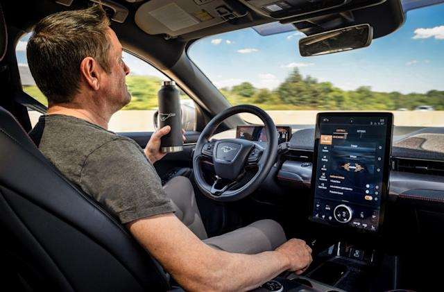 Ford's Mustang Mach-E will add hands-free driving with a software update