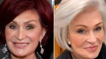 Sharon Osbourne Debuts '100% White Hair' After Dyeing It Red for the Past 18 Years