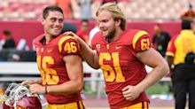 Blind USC snapper is also an outstanding golfer