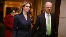 Hope Hicks to return to Trump White House