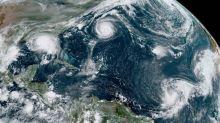 Por qué es insólito que haya 5 ciclones tropicales en el Atlántico al mismo tiempo