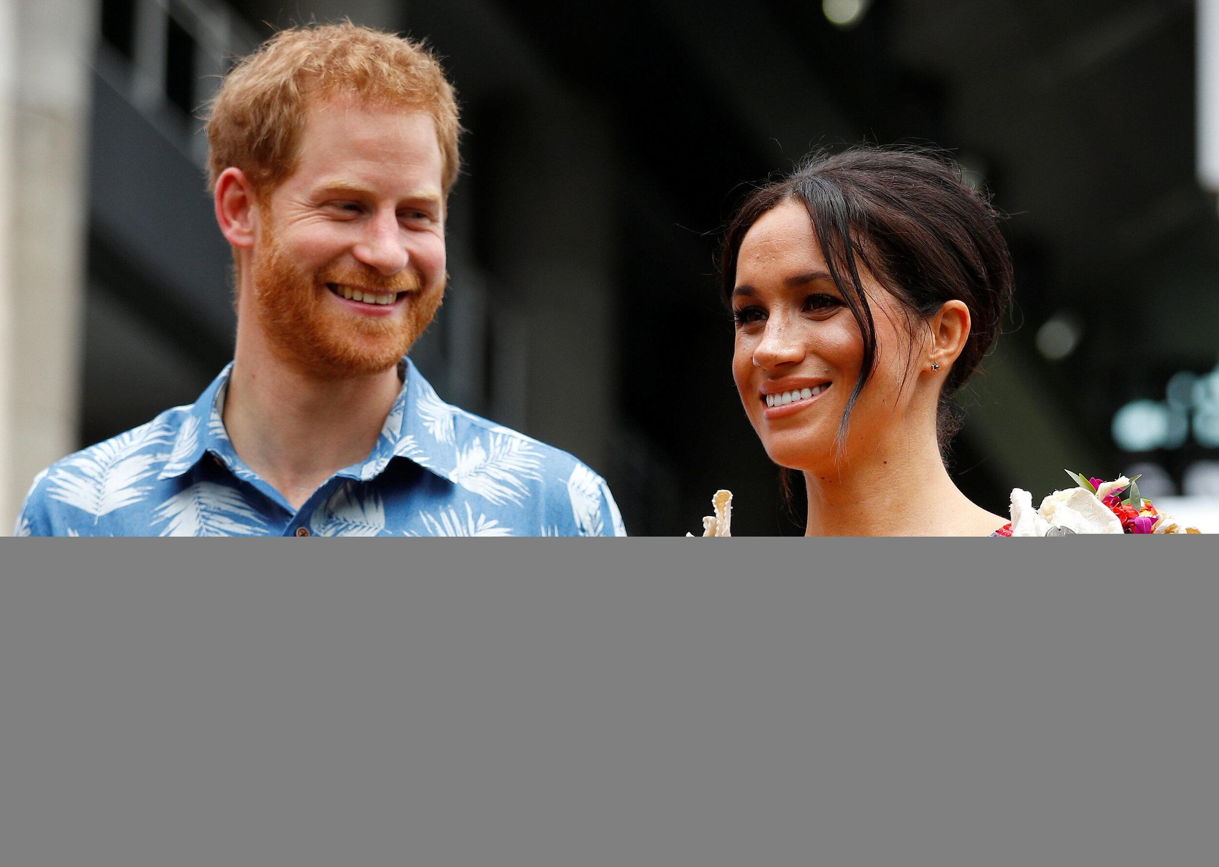 The Duke and Duchess of Sussex visit the University of the South Pacific in Suva, Fiji, on day two of the royal couple's visit to Fiji.