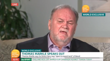 Meghan Markle's dad shares how Prince Harry asked for her hand in marriage — and why they disagree on Trump