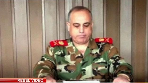 Syrian military police chief defects
