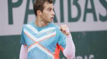 Roland-Garros (H) - Roland-Garros : Hugo Gaston domine Maxime Janvier, sa première victoire en Grand Chelem