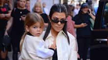Kourtney Kardashian Is Being Mom-Shamed on Instagram for Her Son's Long Hair