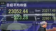 La Bolsa de Tokio cae un 1,57 % tras el ataque iraní a fuerzas de EEUU