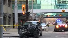 Police say driver who sped through parade barricade in Calgary has no extremist links