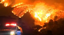 Wildfire Still Raging In Southern California Is Third Largest In State History