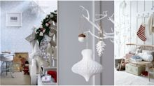 8 ways to decorate your home with white this Christmas