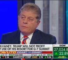 Fox's Judge Napolitano: G7 at Trump Doral Is as 'Profound a Violation' as 'One Could Create'