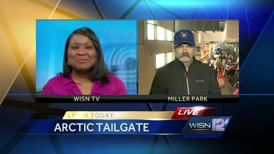 Gorman Thomas discusses the Brewers Arctic Tailgate