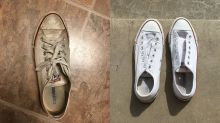 This Simple Shoe Hack Will Make Your Old Sneakers Look Brand New Again