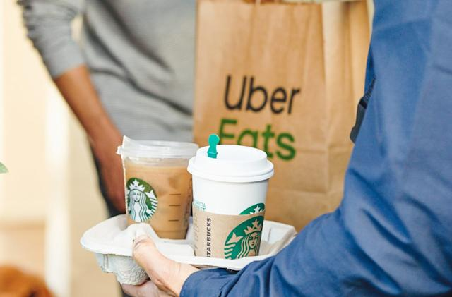 Starbucks expands Uber Eats deliveries across the US