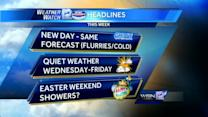 Jeremy Nelson's Tuesday morning forecast