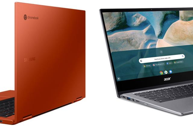 Samsung's Galaxy Chromebook 2 and Acer's Chromebook Spin 514 vs. the competition