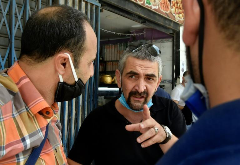 The co-accused Samir Belarbi pictured on August 3 in Algiers