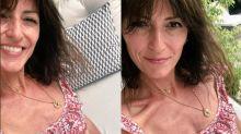 Davina McCall responds to bikini pic controversy by posting comparison photo from same day