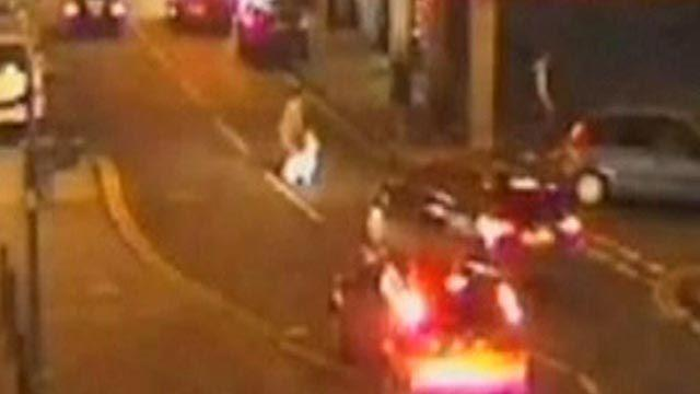 Around the World: Speeding car hits woman, toddler