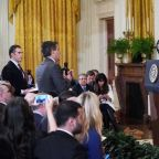 CNN sues over barring of reporter, White House vows vigorous defense