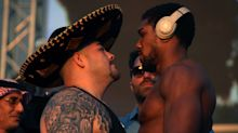 Joshua weighs in three stone lighter than Ruiz ahead of rematch