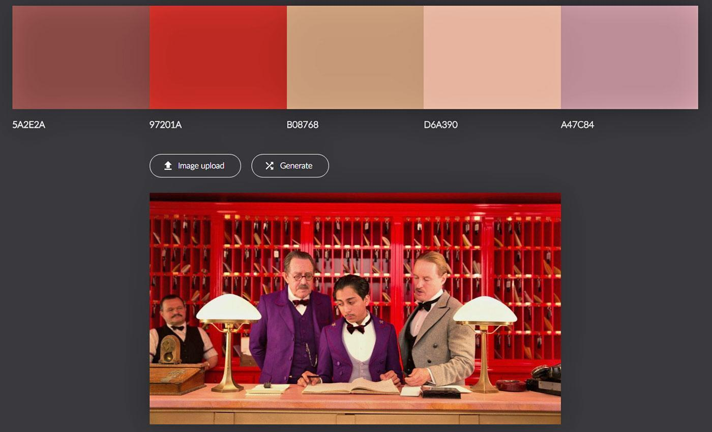 Use AI to turn your favorite film into a color palette | Engadget