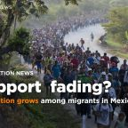 Support fades for migrants in Mexico as frustration mounts