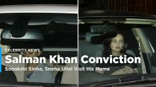 Salman Khan Conviction: Sonakshi Sinha, Sneha Ullal Visit His Home