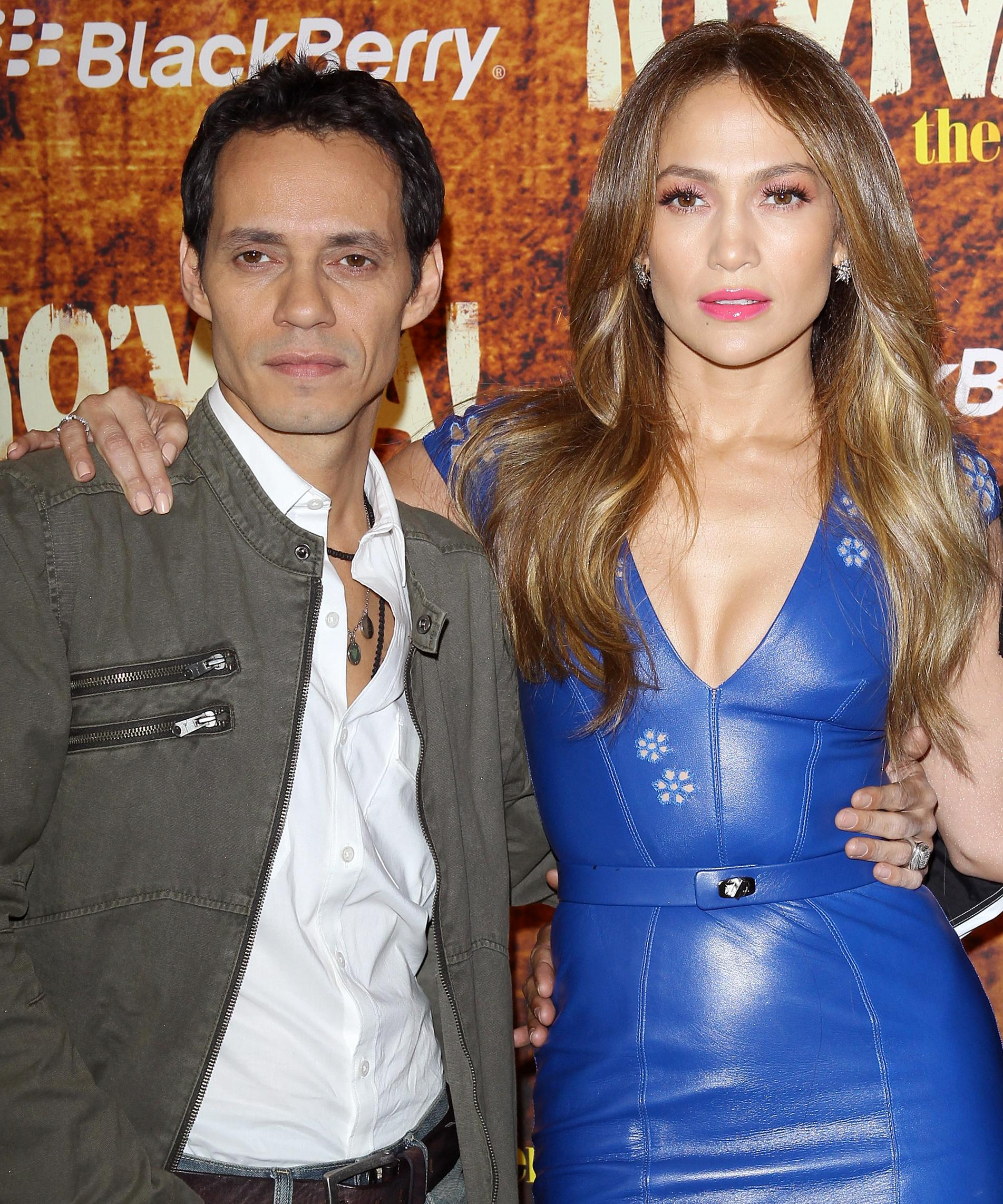 J Lo Posted The Sweetest Instagram For Marc Anthony After His Mother S Death