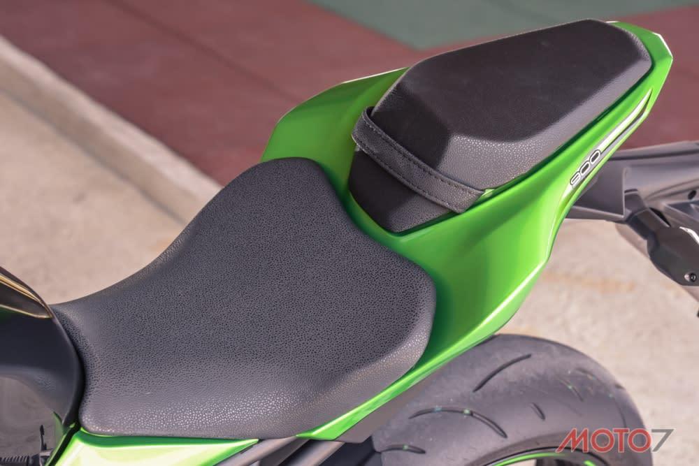 寬大的座椅能夠帶給騎士足夠的支撐性。