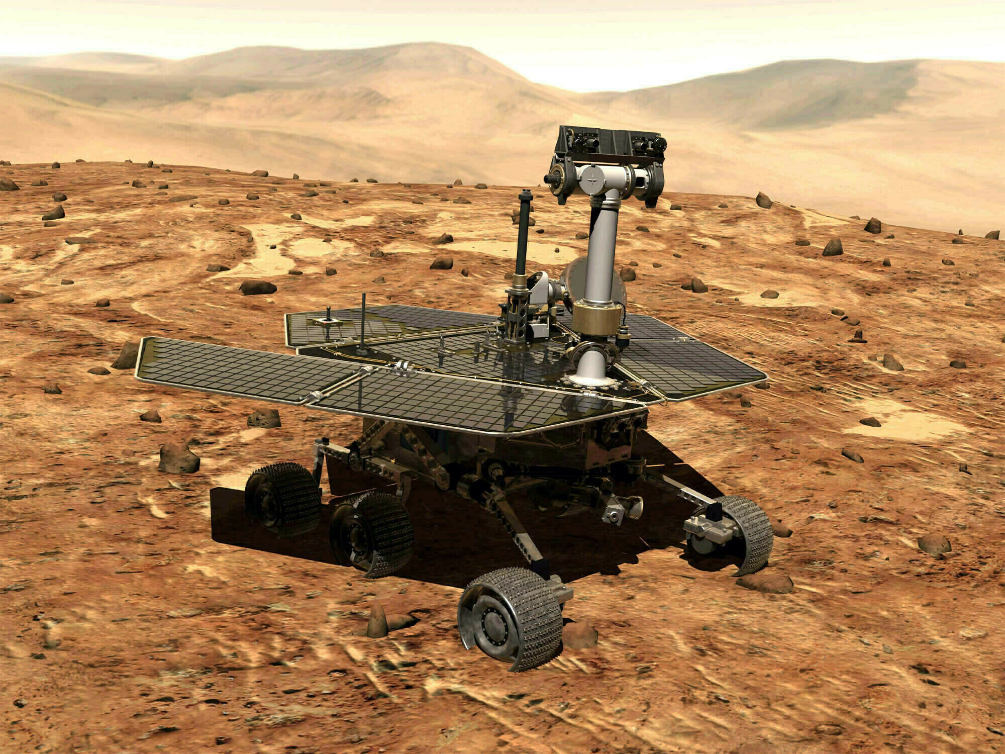 Image result for NASA Finally Bids Adieu to Opportunity, the Mars Rover That Kept Going and Going