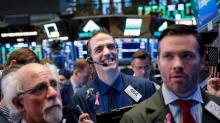 Wall Street gains after strong earnings from blue-chips