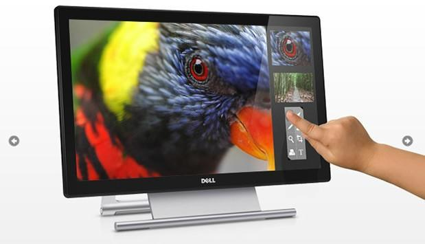 Dell's S2240T touch monitor boasts 21.5-inch full HD panel, 60-degree tilt