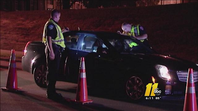 Police to target Raleigh downtown for drunken drivers