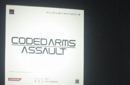 Joystiq hands-on: Coded Arms Assault (PS3)
