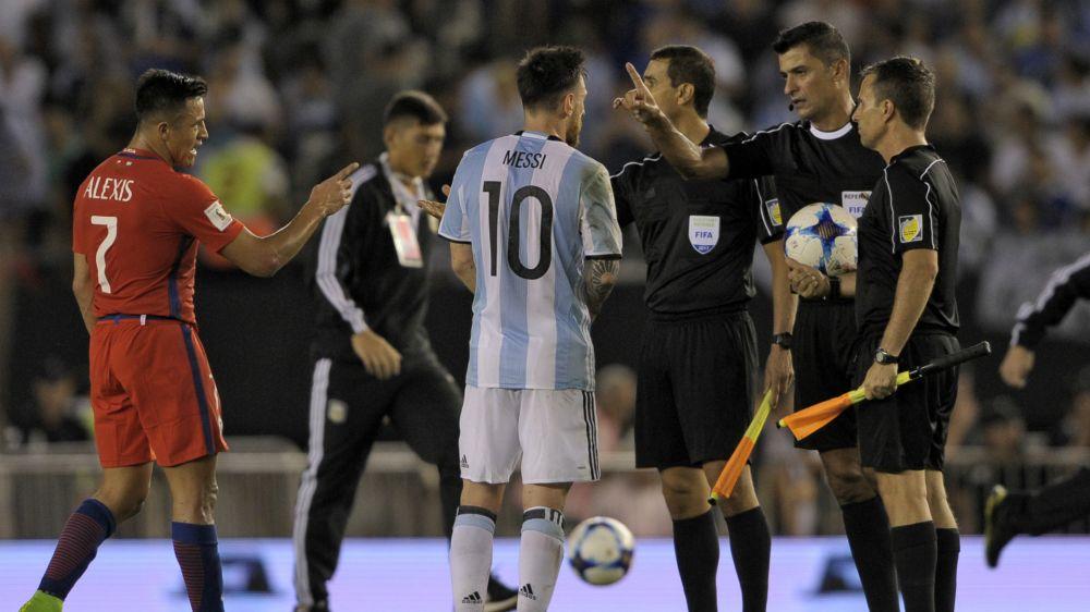 Messi-Sperre: Das sagte er zum Linienrichter