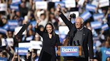 Bernie Sanders says Alexandria Ocasio-Cortez will work in his administration if he's president