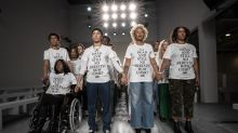 Grenfell Tower activists open London Fashion Week to demand justice