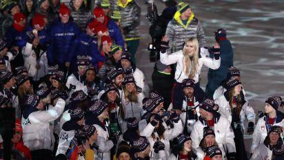 Deutsche Eishockey-Helden feiern mit Lindsey Vonn